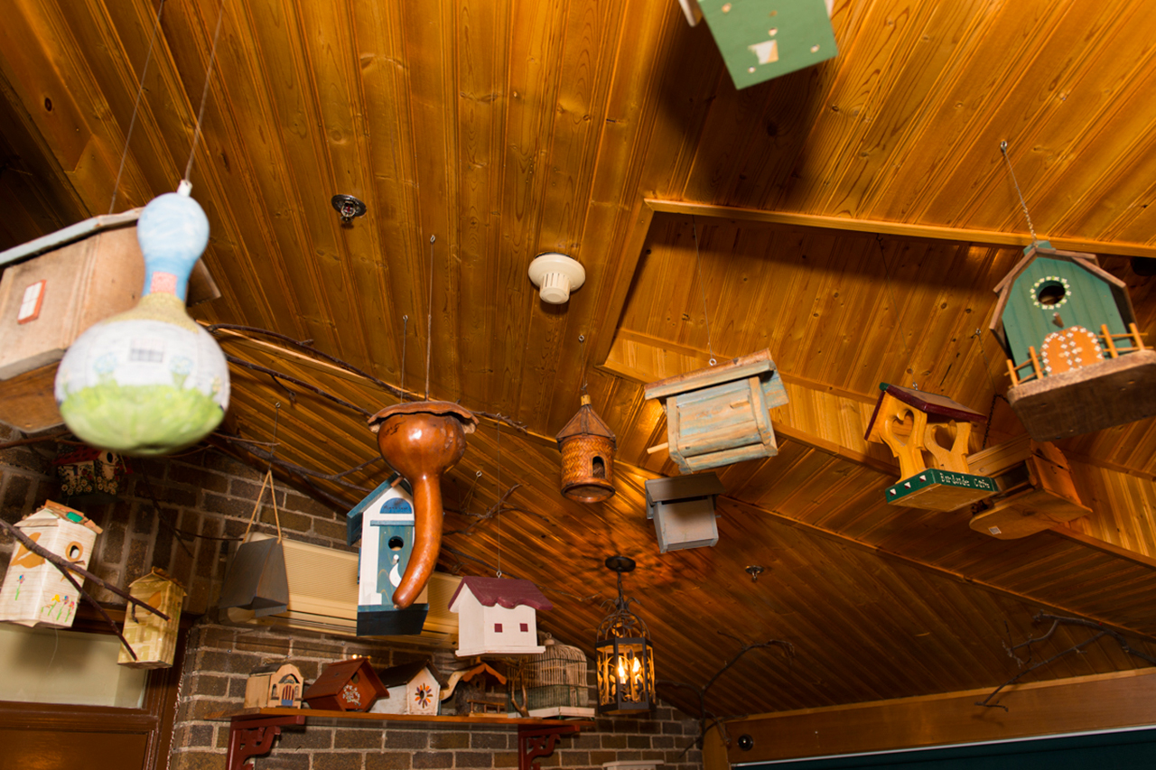 Cabanes à Oiseaux au Plafond