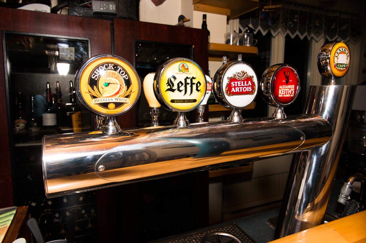 Nos bières en Fut | Central Café Rimouski